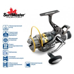 Безынерционная катушка Surf Master Easy Pro 3000A с байтраннером
